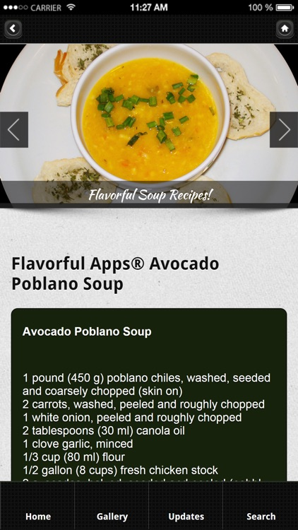 Soup Recipes from Flavorful Apps® screenshot-2