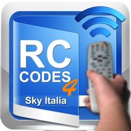 Remote Controller Codes for Sky Italia