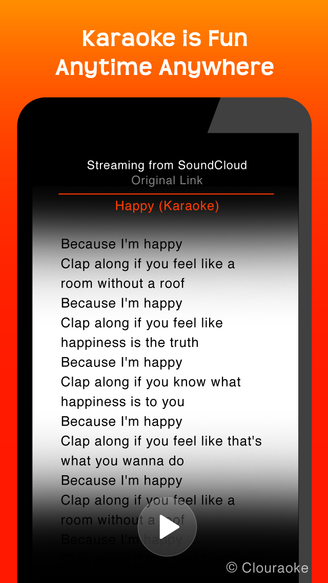 download Sing Free Music Karaoke MP3 Songs with Clouraoke - Stream Singing for SoundCloud apps 0
