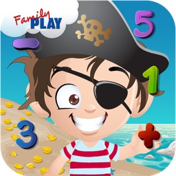 Pirate Math for Preschoolers: Preschool Adventure Island
