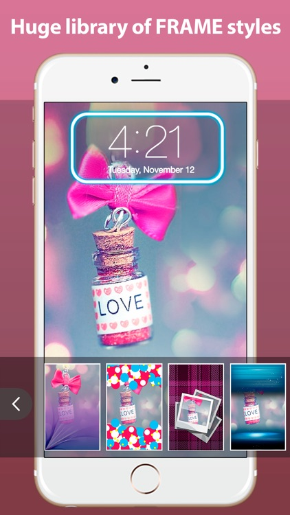 Lock Screen HD - Personalize theme, wallpaper and background for LockScreen