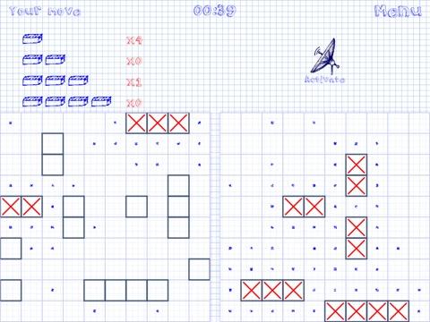 Doodle Battleships Online на iPad