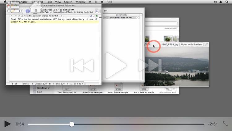 Course For Mac OS X 10.7 101 - Core Lion screenshot-4