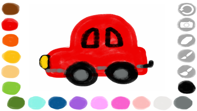 ‎Scribbaloo Paint - a simple, easy to use painting app for toddlers and preschoolers Screenshot