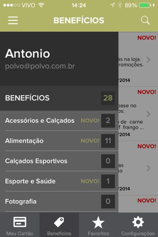 Clube Corporate screenshot 4