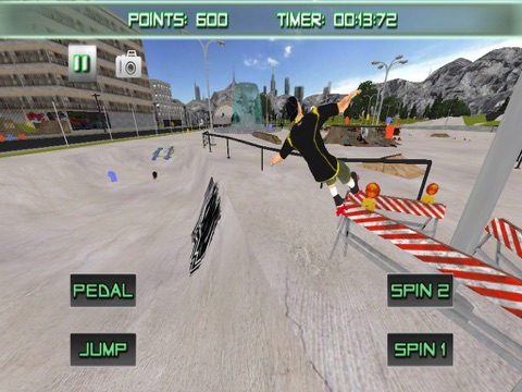 5807ee71a08 Screenshot  1 for Roller Skating 3D Free Skate Action Board Game ...