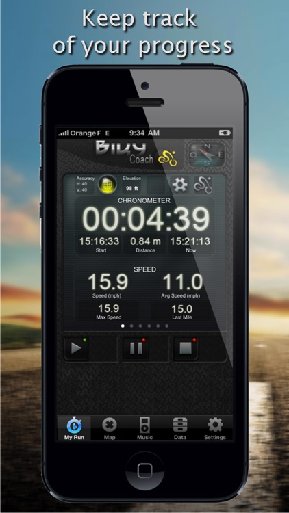 Biky Coach - Sport GPS Biking / Cycling / Bike / Racer