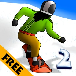 Fun Free Winter Snow Game 2 : The Snowboard King of the Ski Ice Mountain - Free