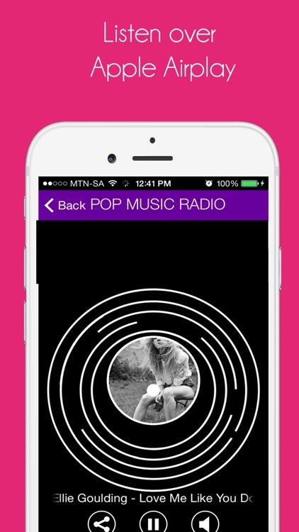Pop Music Radio FREE screenshot-3