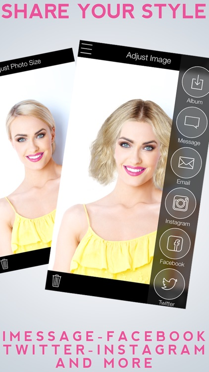 Hairstyle Makeover Premium - Use your camera to try on a new hairstyle screenshot-4
