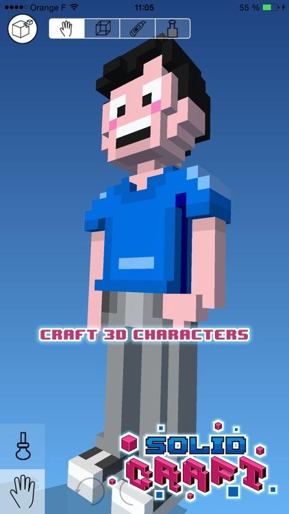 Solid Craft - Create & Print 3D Pixel Blocks Creations screenshot-0