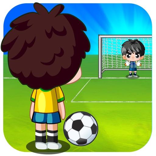フリックペナルティサッカーPK戦 - Flick Penalty Soccer Shootout