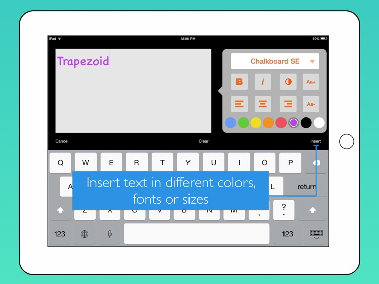 bContext - Interactive whiteboard to record & share lessons for flipped classrooms screenshot-3