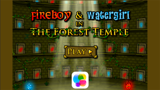 Fireboy & Watergirl 2 - The Forest Temple screenshot one