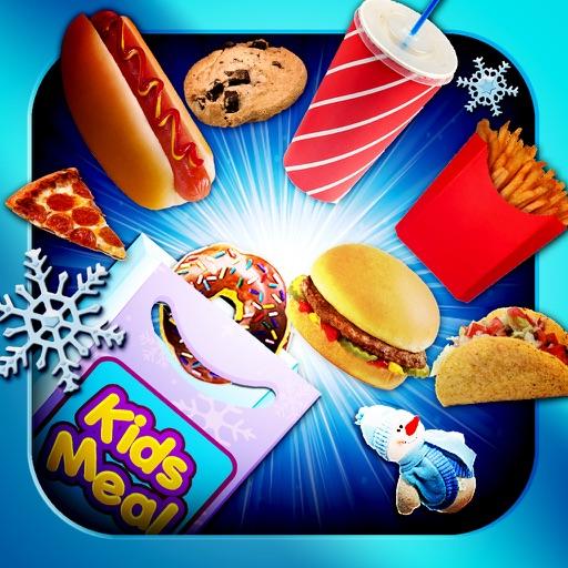 Kids Meal Maker Winter Ice Season - Frozen Food Game