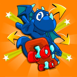 Dragon Skater - For Kids! Collect Those Gold Coins!