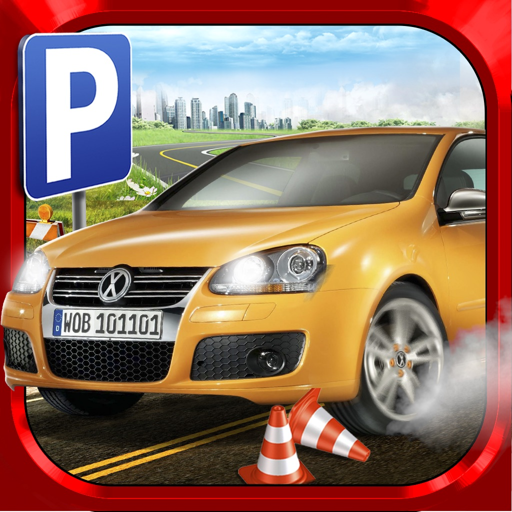 car parking driving simulator game gratuit jeux de voiture de course dans l app store. Black Bedroom Furniture Sets. Home Design Ideas