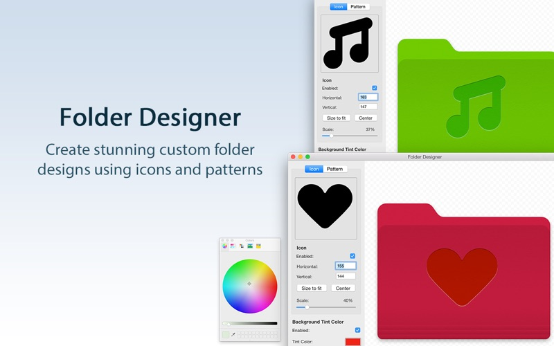 Folder Designer Screenshot