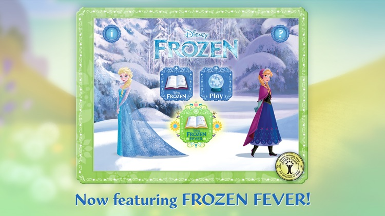Frozen: Storybook Deluxe - Now with Frozen Fever! screenshot-0
