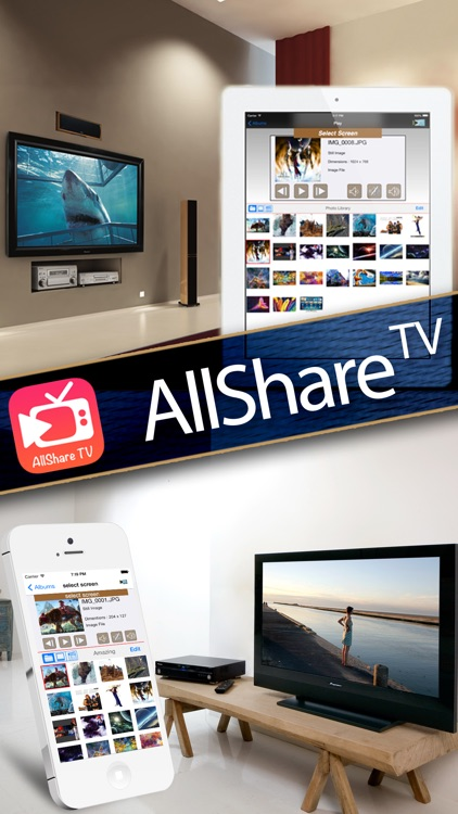 AllShare TV - Media Server with SmartTV Connect screenshot-3
