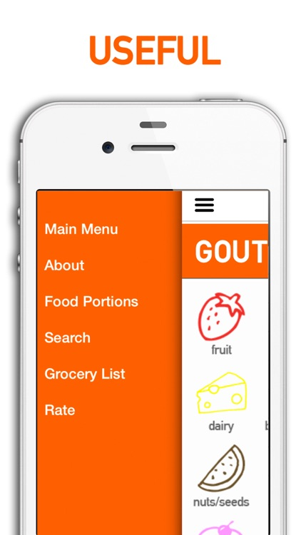 Gout Diet Foods and Grocery List screenshot-4
