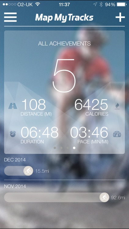 Map My Tracks -GPS cycling walking running tracker