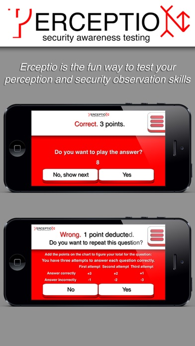 ERCEPTIO - Cross train your brain! Test your perception and