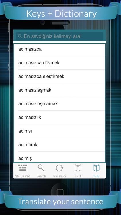 Turkish Eng Dic + Keys (English to Turkish & Turkish to English)