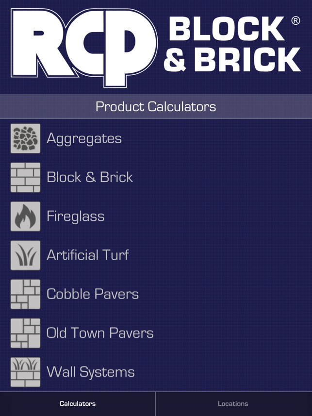 rcp product calculators on the app store