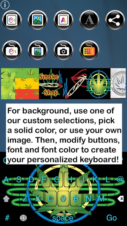 Pot Keys Free Custom Keyboard screenshot-3