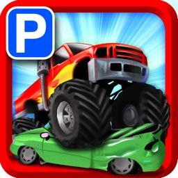 Monster Truck Jam PRO - Expert Car Parking School Real Life Driver Sim Park In Bay Racing Games