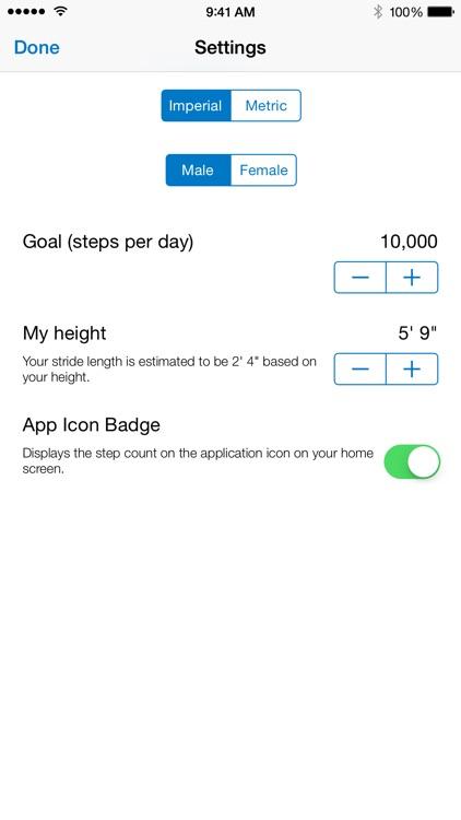 Pedometer - Track your steps screenshot-3