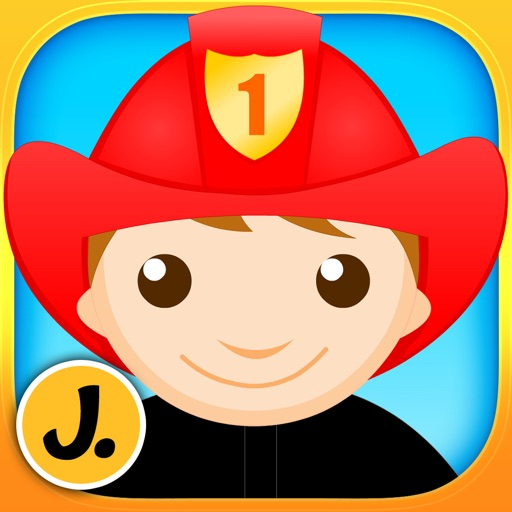 Kids & Play Professions Puzzles for Toddlers and Preschoolers