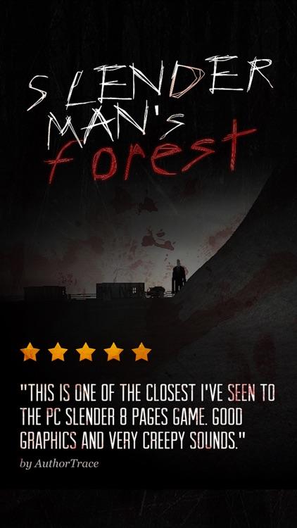 SlenderMan's Forest screenshot-0
