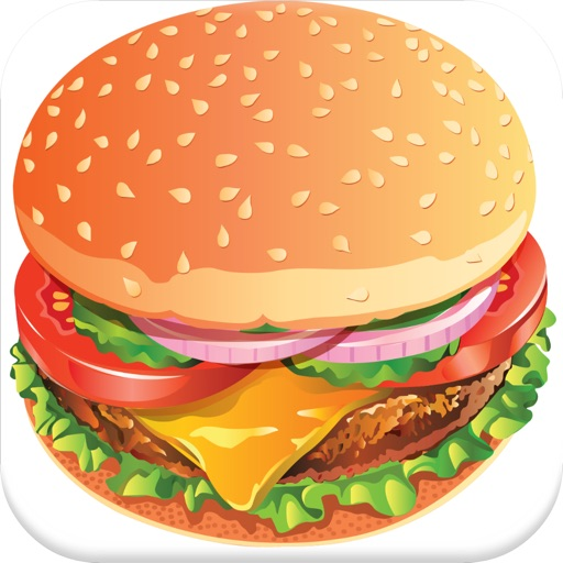 Fast Food Sliding Puzzle Game