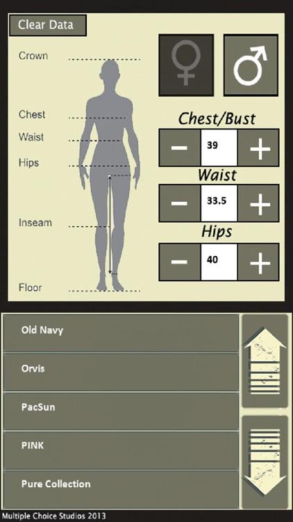MySize Clothing screenshot-4