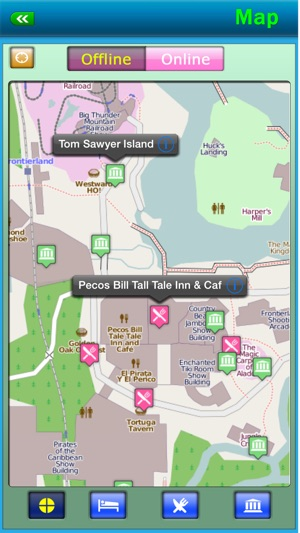 Disney world offline map guide on the app store disney world offline map guide on the app store freerunsca Gallery