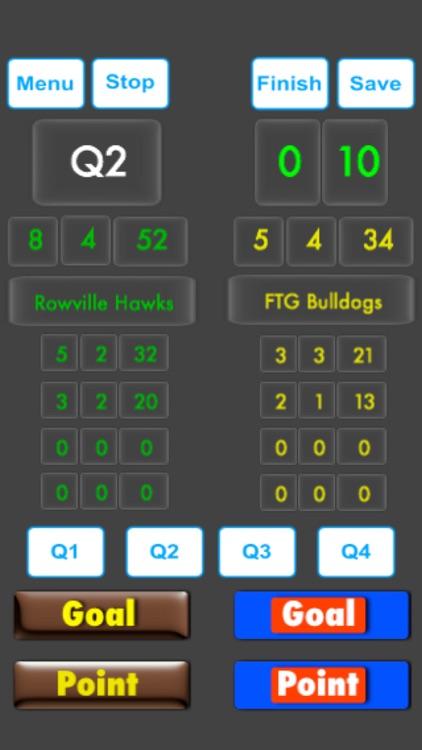 ScoreKeeper - Aussie Rules screenshot-3