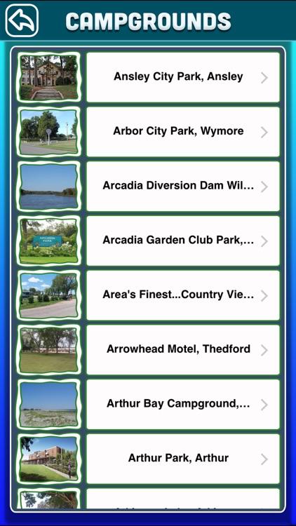 Nebraska Campgrounds & RV Parks Guide