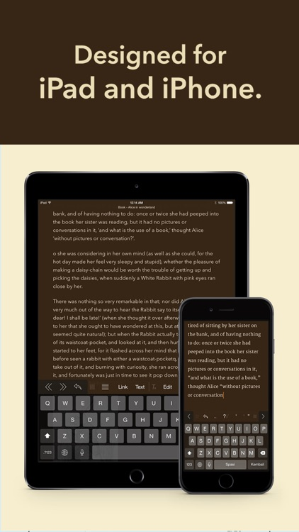 Matcha - Writing App & Text Processor screenshot-4