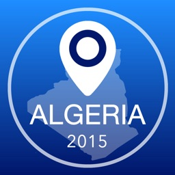 Algeria Offline Map + City Guide Navigator, Attractions and Transports