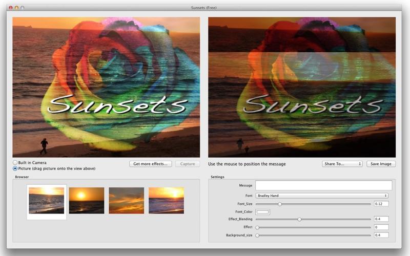 SunsetsFree Screenshot