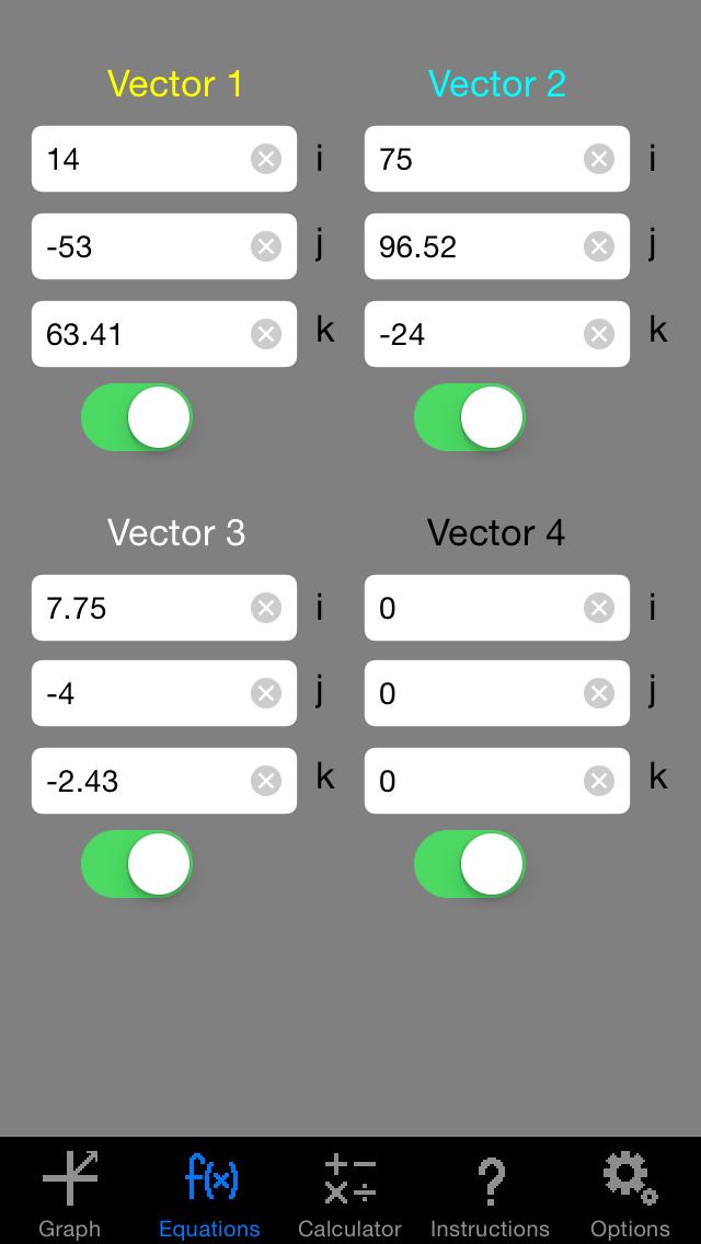 Vector Grapher screenshot two