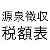源泉徴収税額表平成27年分