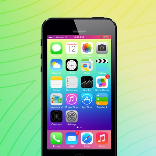 Let It Glow: Design Lock & Home Screen Theme Wallpaper for iOS 7 with Photo Editor