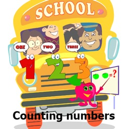 Counting numbers for kindergarten or kids learning