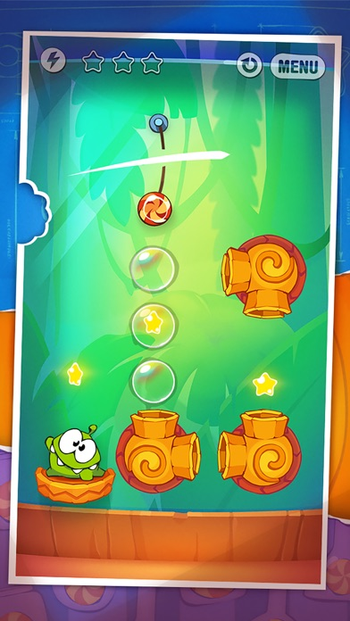 Screenshot #1 for Cut the Rope: Experiments