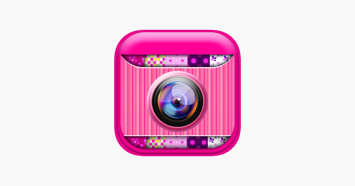 Nette Rosa Foto Collage Hersteller: Entzückende Bildbearbeitung für ...