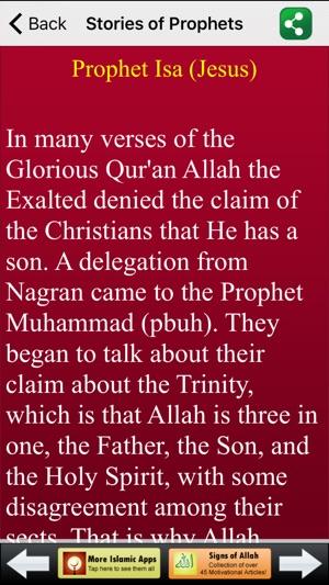 stories of prophets in islam islamic stories, muslim storiesiphone screenshots