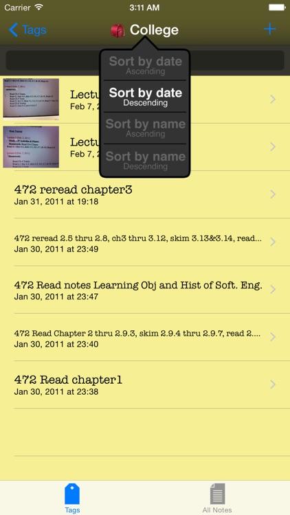 Snap-it Notes screenshot-3